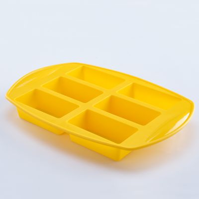 Solis 6 Cups Silicone Rectangular Muffin Mould