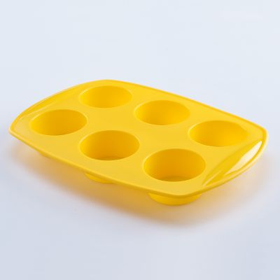 Solis 6 Cups Silicone Muffin Mould