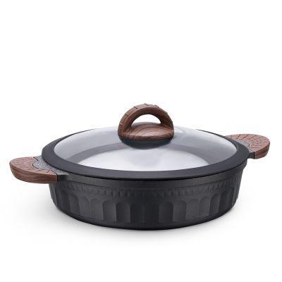 7 Pcs Zeugma Granitec Cookware Set
