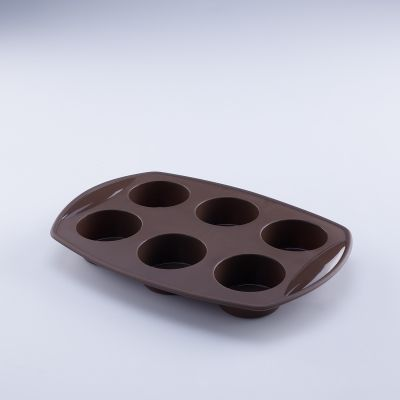 Terra 6 Cups Silicone Muffin Mould