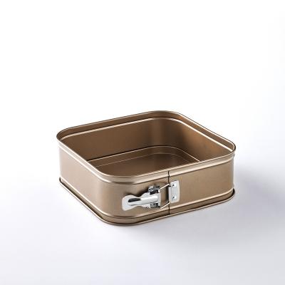 Gold Square Springform Pan