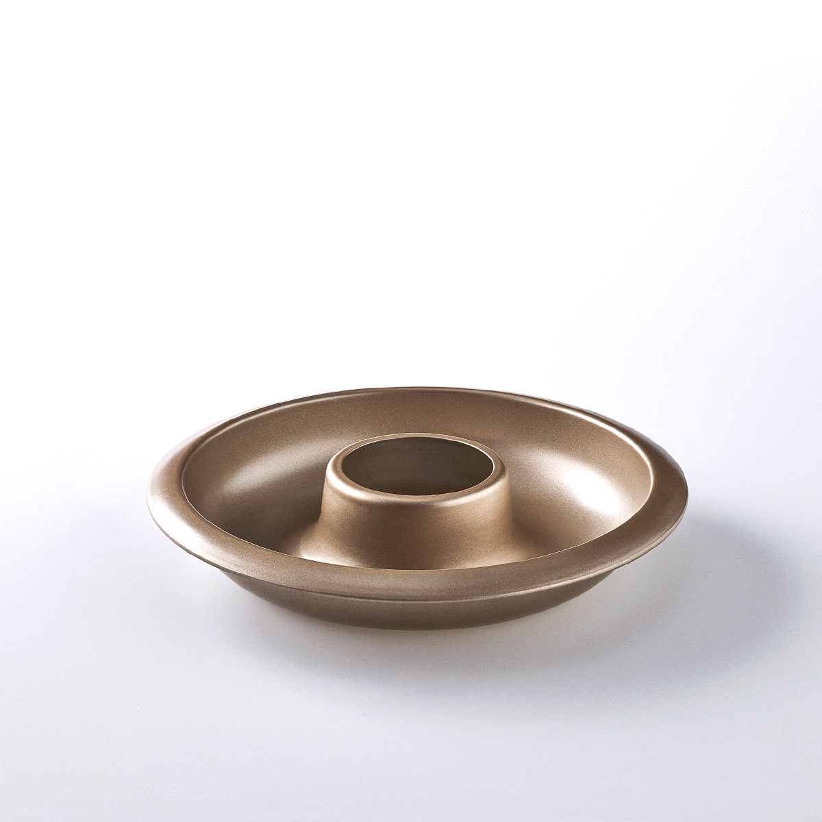 Gold Round Cake Mould